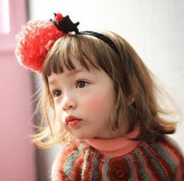 $enCountryForm.capitalKeyWord Canada - Big flower cute teddy bear hair hoop hair sticks for girls three colors can choose