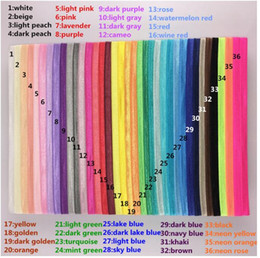 Wholesale BABY Girls Boy Nylon Elastic Rubber Bands DIY Rainbow Hair Accessories for Children Toddler Infant Colors