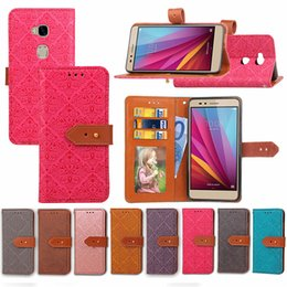 $enCountryForm.capitalKeyWord NZ - Wallet Case for Huawei Honor 5X with Leather Buckle Card Slots Photo Frame Imprinting European Painting