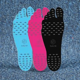 InsulatIon pad waterproof online shopping - Summer Nakefit Soles Invisible Beach Nakefit Foot Pads Nikefit Prezzo Waterproof Portable Silicone Non Slip Heat Insulation Hot Sell kc J