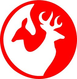 Hunting Stickers NZ - Wholesale 20pcs lot Home Decorations Automobile and Motorcycle Vinyl Decal Car Glass window Stickers Jdm Deer Buck Ying Yang Hunting