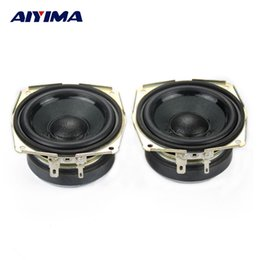 8ohm speakers 2019 - Wholesale- AIYIMA 2pcs 2.75 Inch Full Range Speaker 8Ohm 15W Tweeter Subweefer Bass Common Speakers Home Theater Stereo