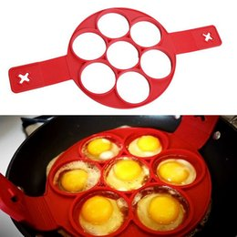 ring maker 2019 - Flippin Fantastic New Pattern Non Stick Nonstick Pancake Silicone Maker Egg Ring Maker Kitchen Hot Fantastic Nonstick Fr