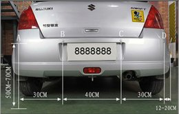 Probe Car UK - Spot PZ300 PZ301 LED Parking Sensor Car crescent Beeper Reversing Radar Four Probes Numeral LED Digital Display Free EUB Epacket