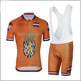 2018 Men Summmer triathlon Netherlands National Team Cycling Jersey  mountain bike clothes maillot ciclismo ropa Size XXS-6XL N8 b4270b8c5