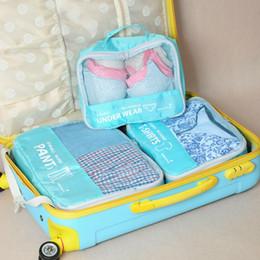 $enCountryForm.capitalKeyWord Canada - New 3 set Women Men Travel Storage Bag Waterproof High Capacity Luggage Clothes Tidy Storage Pouch Portable Organizer Case Free shipping