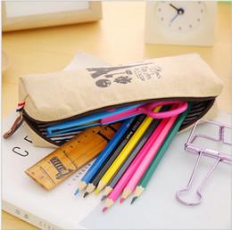 $enCountryForm.capitalKeyWord Australia - Cute Cartoon Kawaii Pencil Case Large Pencil Bag for Kids School student Supplies Material Korean Stationery pouch pencil pen bags