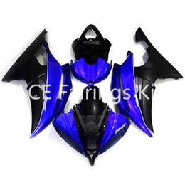 $enCountryForm.capitalKeyWord Australia - 3 gift New Fairings For Yamaha YZF-R6 YZF600 R6 08 15 R6 2008-2015 ABS Plastic Bodywork Motorcycle Fairing Kit Blue black style vv5