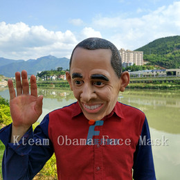 $enCountryForm.capitalKeyWord Canada - Top Grade 100% Latex USA President Obama Mask Costume Party Funny Realistic Human Full Face Masks Halloween Party Cosplay Props Fancy Dress