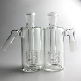 45 degree bong online shopping - 4 Inch Glass Bong Ash Catchers mm mm Thick Pyrex Glass Bubbler Ash Catcher Degree Glass Ashcatcher Water Pipes