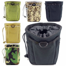 Molle Ammo Pouches Canada - EDC Tactical Pouches Molle Pouches Magazine DUMP Ammo Drop Utility Pouch Bag, Outdoor Portable Waist Bag Tool Pouch Travel Pouch