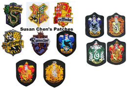 Barato Remendos De Ferro Harry Potter-Harry Potter Iron on Patches Embroidery Patches Mixed 12 estilos
