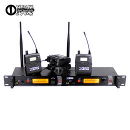 Chinese  In Ear Monitor Wireless System Stage Professional Monitoring Four Bodypack Receivers With One Cordless Transmitter In Earphone manufacturers