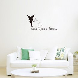 Once Upon A Time Wall Sticker Quotes DIY Letter Wall Decals Wall Decor For  Living Room Bedroom And Study Part 83