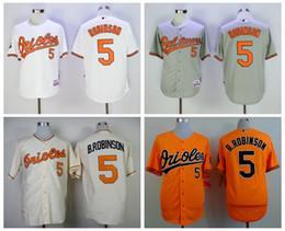 ba14e5b34 ... Best Quality 5 Brooks Robinson Jersey Vintage Baltimore Orioles Brooks  Robinson Baseball Jerseys Cool base 1970 ...