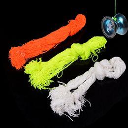 $enCountryForm.capitalKeyWord Australia - ZTOYL 100 Pcs lot 100% Polyester Light Professional YoYo Ball Bearing String Trick Yo-Yo Kids Magic Jling Toy