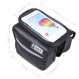 Wholesale DUUTI Water Resistant Bicycle Phone Screen Front Tube Bag With inches Mobile Phone Pouch