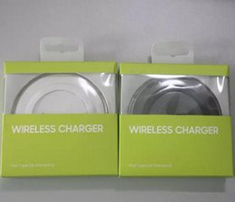 Charger Samsung Quality Australia - Qi Wireless Charger Fast Charging For Samsung Note Galaxy S6 s7 Edge mobile pad with logo with retail package High Quality Universal via DHL