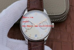 Pilot watch dial online shopping - Factory Supplier Luxury AAA Wristwatches IW500705 Automatic Mechanical Mens Men s Watch Watches mm pilot No Chronograph White Dial