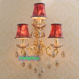 Fabric wall light shades online shopping fabric wall light shades fabric wall light shades online shopping three lights wall sconces hotel wall mounted lamps antique aloadofball Gallery