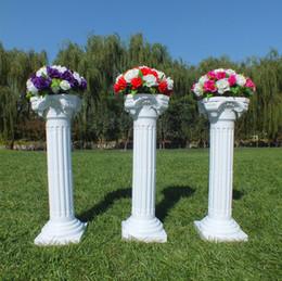 $enCountryForm.capitalKeyWord UK - Upscale Style Roman Columns White Color Plastic Pillars Road Cited Wedding Props Event Decoration Supplies 10 pcs lot