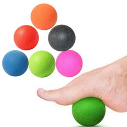 Barato Bola De Massagem Muscular-Mayitr Portable Massage Ball Muscle Foot Full Body Point bola de libertação cansada para ferramentas de massagem corporal
