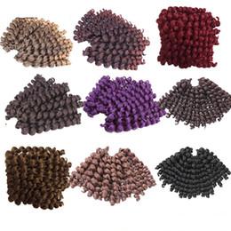 $enCountryForm.capitalKeyWord Canada - Wand Curl Bouncy Twist Afro Kinky Twist Freetress Crochet Braids Fluffy Marley Hair Jamaican Twist Bouncy Curl Hair Extensions