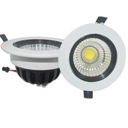 led bulbs warm white NZ - For CREE COB Led Ceiling 5W 7w 10w 15w Spot Bulbs Light AC 110-240V Led Ceiling Bulbs downLight Warm Cool White Warranty 3 Years
