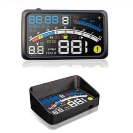 "$enCountryForm.capitalKeyWord UK - 2017 4E 5.5"" Head Up Display HUD OBD II EOBD Windshield Projector Self-adaptive Car Fuel etc Parameter Display Speeding Warning"