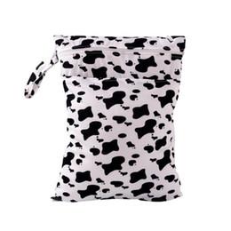 8649e724e Al por mayor-Impreso Watetproof Bolsas de pañales para bebés reutilizables  Nadador Mojado Mojado Pañales secos Pañal de tela