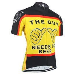 cdade764 BXIO Funny Cycling Shirts Summer Short Sleeve Yellow Cycling Tops Pro Team  Compressed Bike Clothing Quick Dry Bicycle Jerseys BX-035