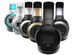 $enCountryForm.capitalKeyWord Canada - ZEALOT B19 LCD Display Bluetooth Headphones Wireless Stereo Earphone Headphone with Mic Headsets Micro-SD Card Slot FM Radio For Phone & PC