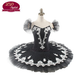red white tutus UK - Women Black Professional Tutu Red Swan Lake Ballet Tutu Professional White Swan Lake Ballet Tutu LD0008