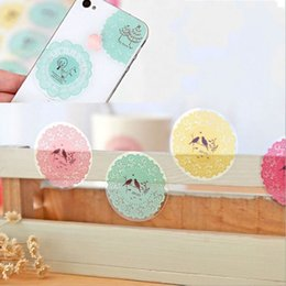 Fresh beauty online shopping - Baking Sticker Seal Transparent Lace Paster Like A Breath Of Fresh Air Stickers Self Adhesive Label Originality Beauty Decoration jd H R