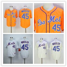 ... MLB Jersey Zack Wheeler Jersey New York Mets 45 Coolbase Throwback  Baseball Jersey White Cream Orange Hot Sale . ... ee30c65be
