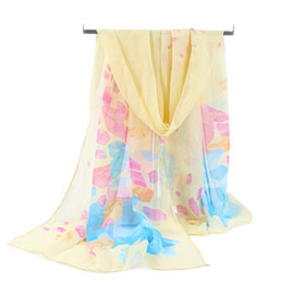 Ladies Women Thick Fashion Flower Print Colourful Scarf All Season Gift