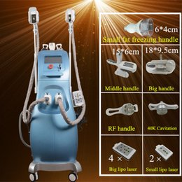 Machine À Serrer La Peau À Ultrasons Ultrasonores Pas Cher-Livraison gratuite congélation amincissant la machine Ultrasonic cavitation rf minceur liposuccion machines radiofréquence peau serrant usage à la maison
