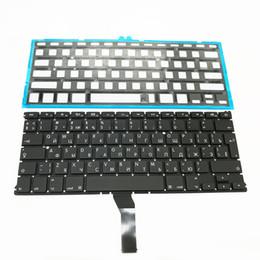 Tout nouveau petit clavier russe RS + rétro-éclairage rétro-éclairé pour MacBook Air 13