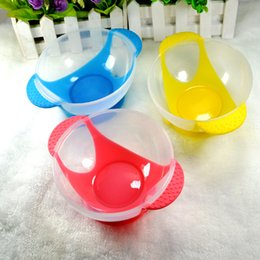 Infant Feeding Bowls NZ - 2017 Baby Infant Slip-resistant Feeding Bowl Training Learning Dishes with Suction Sucker Cup Assist Food Dinnerware A1706212