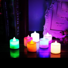 Chinese  3.7cm * 4.5cm Flameless LED Tea Light Candles, Vivii Battery-powered Unscented LED Tealight Candles, Fake Candles, Tealights (24 Pack) manufacturers