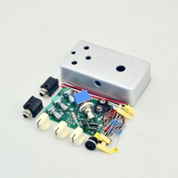 Effects Pedal Kit UK - DIY Overdrive(OD1) Effect pedal Kit With 1590B Hammond 1590B Style Aluminum Box