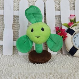 $enCountryForm.capitalKeyWord Canada - Kawaii Plants vs Zombies Soft Plush Doll Toys 15cm Blover Plants vs Zombies Stuffed Toys Birthday Party Gift
