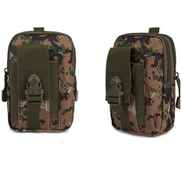 Mobile case packing bag online shopping - Universal Waist Belt Bum Bag Sport Running Mobile Phone Case Cover Molle Pack Purse Pouch wallet pen iphone cellphone notebook