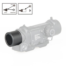 Wholesale New Arrival Tactical Black Color Metal Mesh Scope Protector For DR X X Scope CL33