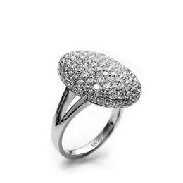 Nouveau! Réel 925 Sterling Silver CZ Diamond Wedding Engagement pour les femmes O anel marque en gros bijoux N22 en Solde