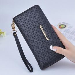 $enCountryForm.capitalKeyWord NZ - Fashion Plain Casual PU Women Evening Wallets New Brand Long Designer Wallet For Women Big Size Women Purse Handbags Free Shipping