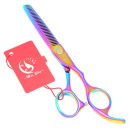 Shears Beauty Salon UK - 5.5Inch Meisha 2017 New Hot Sell Hairdressing Scissors Hair Thinning Scissors Salon Hair Beauty Tools Hairdressing Shears Japan 440C, HA0087