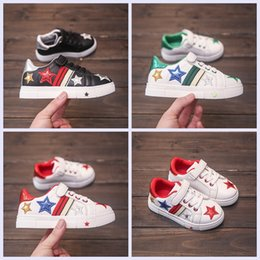 04443c04e1b2 wholesale new children casual shoes star style kids PU shoes 3 colors  fashion shoes for baby boys and girls cheap price with good quality