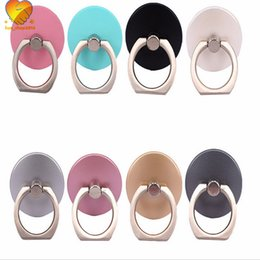 Wholesale Universal Rotation Mobile Phone Ring Buckles Grip stand Cell Phone Finger Metal Ring Holder for Mobile Phone Stand
