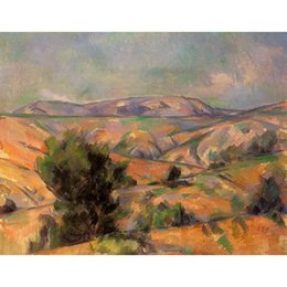$enCountryForm.capitalKeyWord NZ - Paul Cezanne Paintings Mount Sainte-Victoire Seen from Gardanne abstract landscapes art canvas hand-painted wall decor